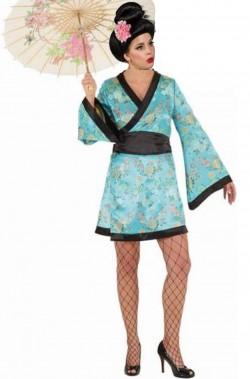 Costume donna da giapponese o cinese geisha
