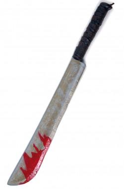 Machete giocattolo Jason Venerdì 13 lunghezza 78 cm