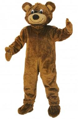 Costume  da orso adulto mascotte