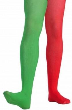 Calze Rosse e Verdi Elfo o giullare  Uomo