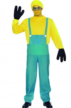 Costume mini ometto giallo uomo