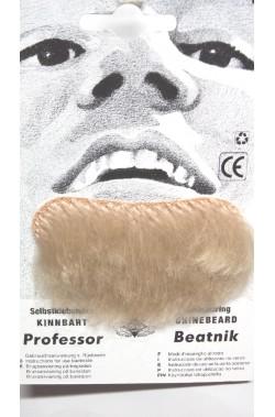 Barba finta pizzetto bionda Professor