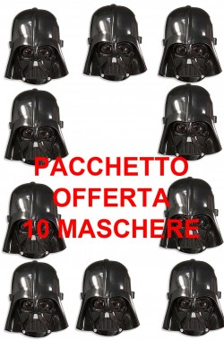 10 Maschere Darth Fener Darth Vader Star Wars Bambino