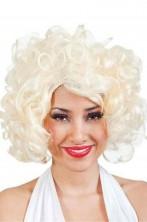 Parrucca Bionda Mossa anni 50