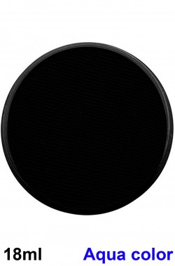 Trucco teatrale cialda aqua color 18ml nero