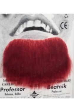 Barba finta pizzetto rossa Professor