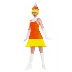 Costume donna adulta cono gelato - Costume da bagno tricolore ...