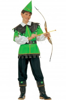 Costume carnevale Bambino Robin Hood Peter Pan