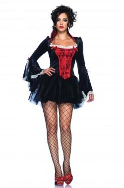Costume donna sexy burlesque vampira