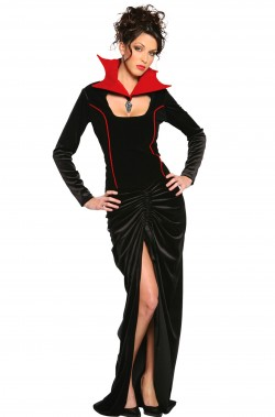 Costume Strega donna adulta regina dei pipistrelli