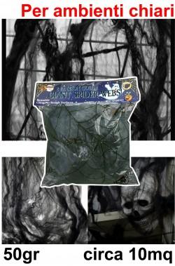 Ragnatela finta nera 50gr