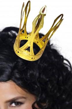 Corona oro per regina di cuori