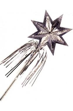Bacchetta argento 48 cm
