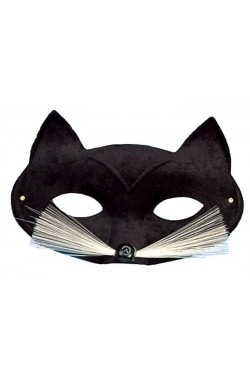 Maschera gatto nero