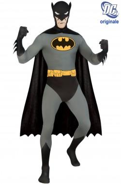 Costume Batman 2nd skin. Tuta aderente. Si beve attraverso la maschera