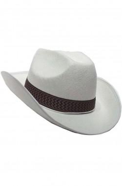 Cappello Cowboy Dallas bianco