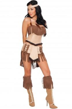 Costume donna sexy Indiana Pocaontas