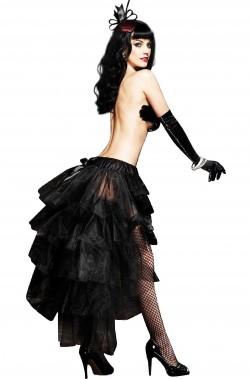 Gonna burlesque nera