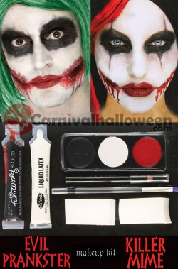Kit Trucco Joker, IT Pennywise o Harley Quinn