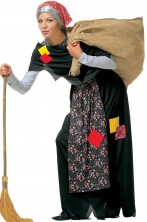 Costume abito da Befana