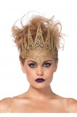Corona color oro medievali o fantasy