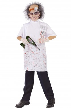 Costume bambino dottore o dentista killer