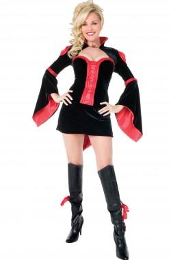 Costume donna sexy burlesque/vampira