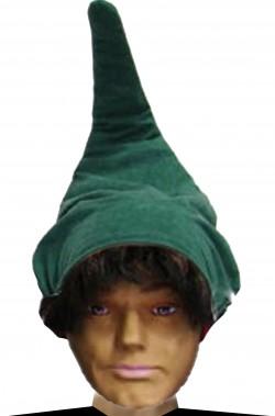 Cappello nano o gnomo elfo verde