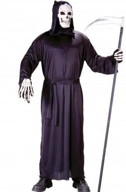 Costume tunica della morte, la grande mietitrice