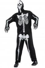 Costume adulto da scheletro