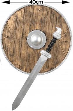 Set da Vichingo scudo e spada