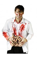 Intestino insanguinato zombie halloween