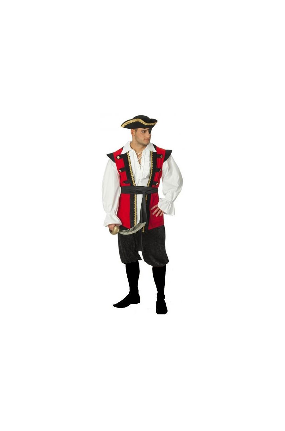 Costume uomo pirata - CarnivalHalloween.com