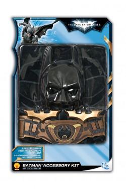 Set Batman con mantello, maschera, batarangs