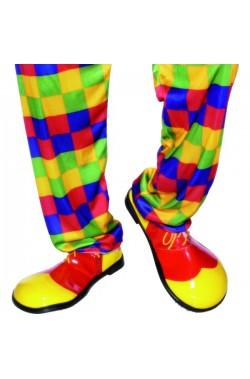 Scarpe da clown In Plastica Taglia Unica