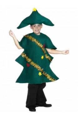 Costume carnevale Bambino Abito Albero Di Natale