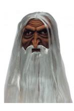 Maschera film Saruman Vecchio Mago
