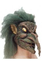 Maschera goblin, gnomo gringott, strega Halloween