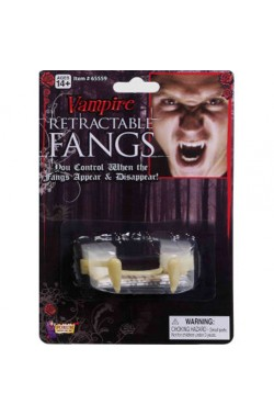 Denti vampiro canini retrattili (leggere info più sotto)