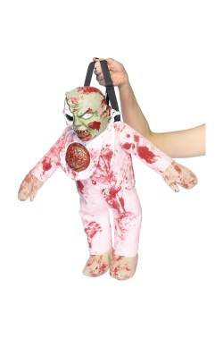 Borsa o Borsetta Halloween a forma di bambino morto zombie