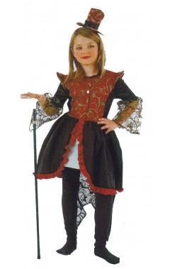 Costume carnevale Bambina Ragazza Dark