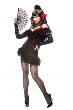 Costume donna sexy spagnola