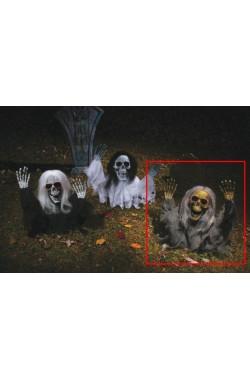 Decorazione Halloween Da Giardino Scheletri Che Escono Dal