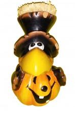 Corvo Halloween Rockfeller in terracotta