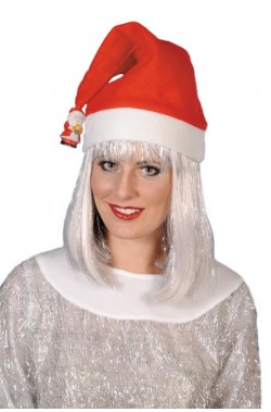 Cappello Babbo Natale con pupazzetto di neve