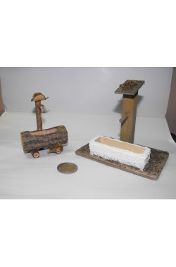 Ambientazione presepe: Abbeveratoio con fontana