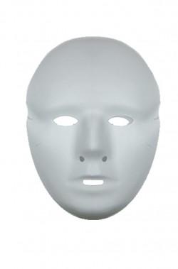 Maschera bianca viso inter donna, 12,5x21cm