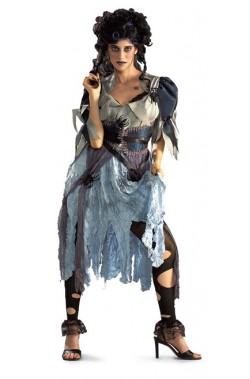 Costume donna cenerentola zombie