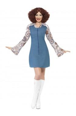 Costume donna Anni 70 disco fever