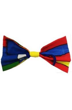 Maxi farfallino clown gigante per animatori o per for Papillon per bambini